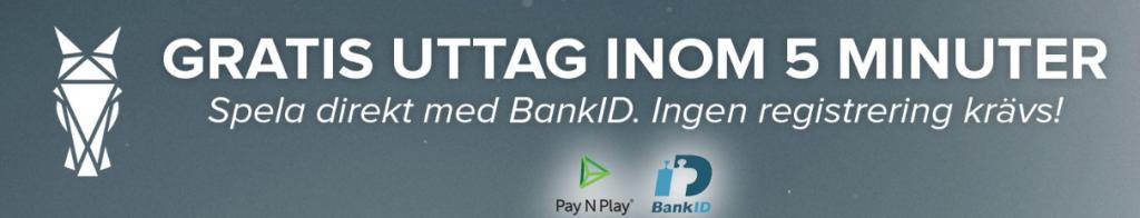 Nya spelbolag med BankId 2019 - Legolasbet och Guts